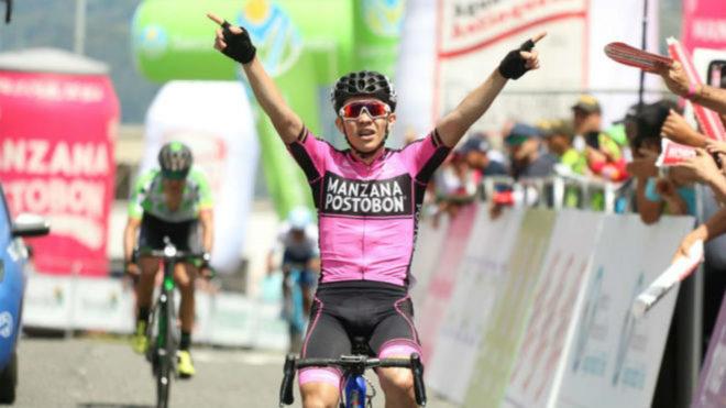 Higuita y su triunfo en la pasada Vuelta a Colombia / Fedeciclismo