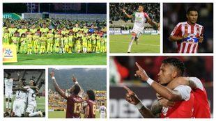 Medellín vs Bucaramanga y Santa Fe vs Tolima se roban todas las...