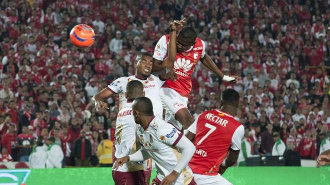 Gol de Héctor Urrego en la final de 2016-II vs Tolima