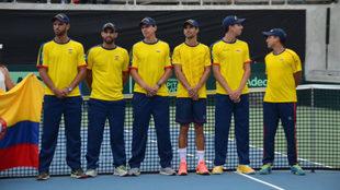 Colombia sale por la hazaña ante los suecos en febrero próximo /...