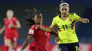 Copa Mundial Femenina Sub-17 entre Colombia y Canadá del Mundial...