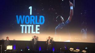 Craig Tiley y Chris Kermode, en la presentación