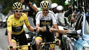 Thomas y Froome en el pasado Tour de Francia