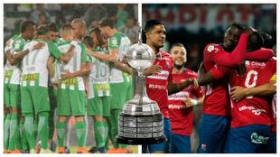Nacional y Medellín, clasificados a la Libertadores 2019