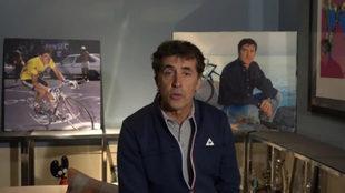 Pedro Delgado, uno de los mejores ciclistas españoles en toda su...