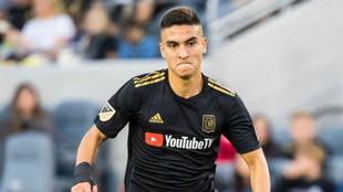 Eduard Atuesta, jugador colombiano que milita en Los Ángeles de la...