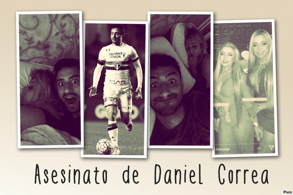 Revelan video previo al asesinato del futbolista Daniel Correa