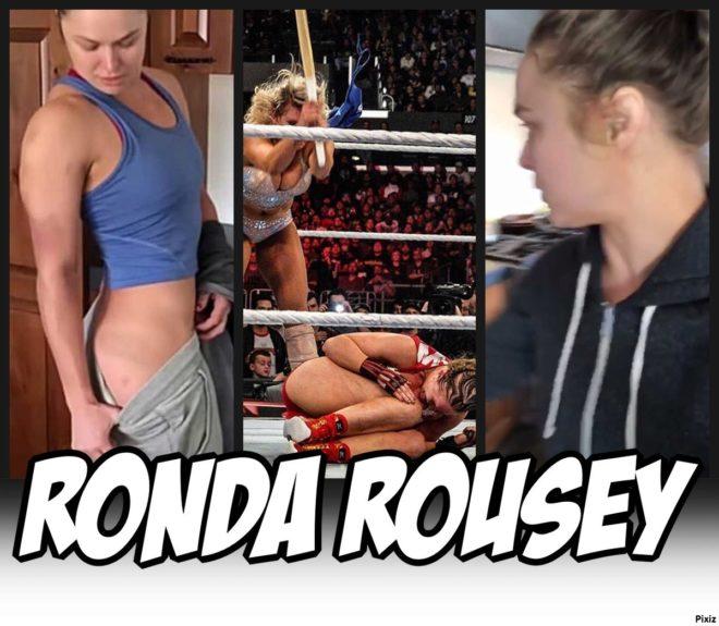 Wwe Ronda Rousey Desnuda Sus Hematomas Tras Sufrir La Paliza De Su
