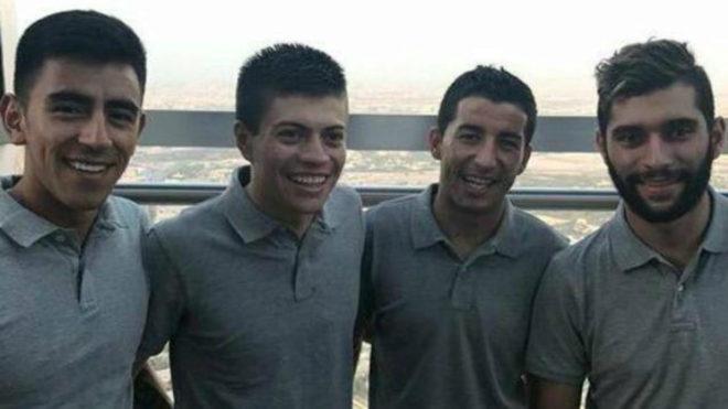 Los 4 colombianos que han llegado a la escuadra del UAE: Sebastián...