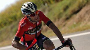 El italiano Nibali durante la etapa 18 de la Vuelta 2018 / EFE