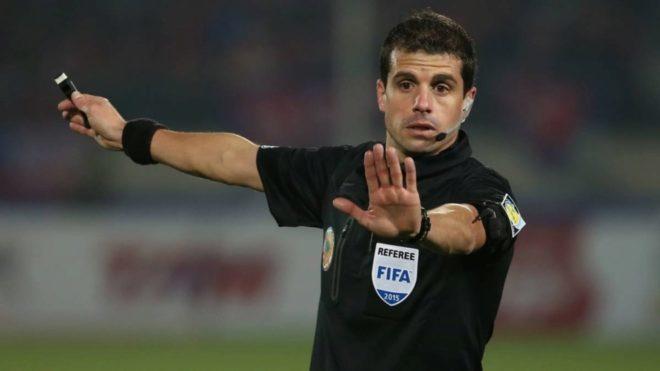 Barrios, expulsado en la final de la Copa Libertadores