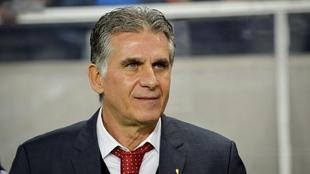 Carlos Queiroz dirige actualmente a la Selección de Irán.