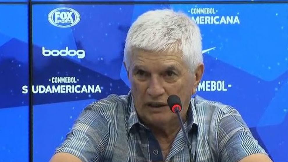 El entrenador se mostró sereno y espera el duelo ante el DIM por Liga...