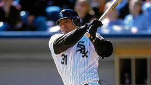 José Canseco jugando en la MLB con los Chicago White Sox / Getty...
