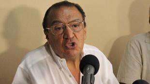 Gabriel Camargo, presidente del Tolima, en rueda de prensa.