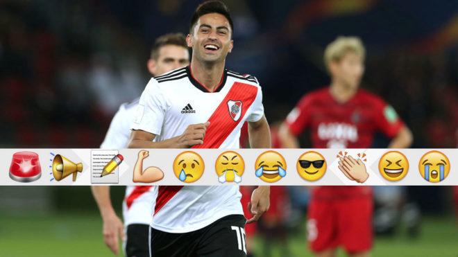 Pity, golazo y despedida de River Plate