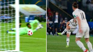 El gol de Modric en la final del Mundial de Clubes