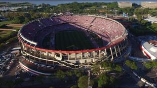 Panorámica del estadio Monumental de Núñez.