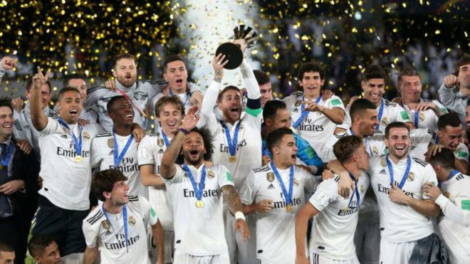 El Madrid, con el Mundial de Clubes de Abu Dabi