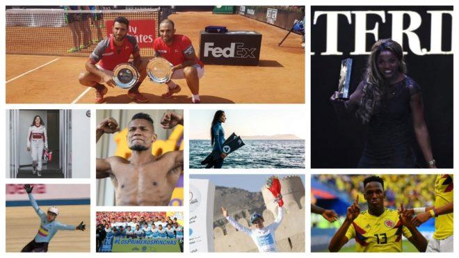 Los deportistas colombianos que brillaron por el mundo en este 2018