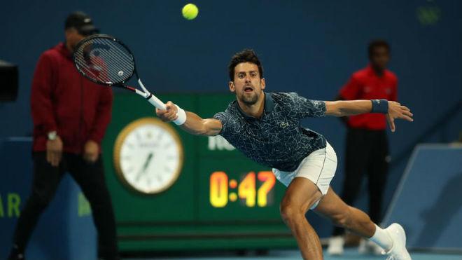 Tenis: Djokovic arrancó el año arrasando