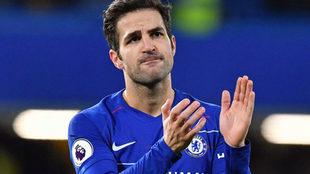 Cesc se despide entre lágrimas de Stamford Bridge