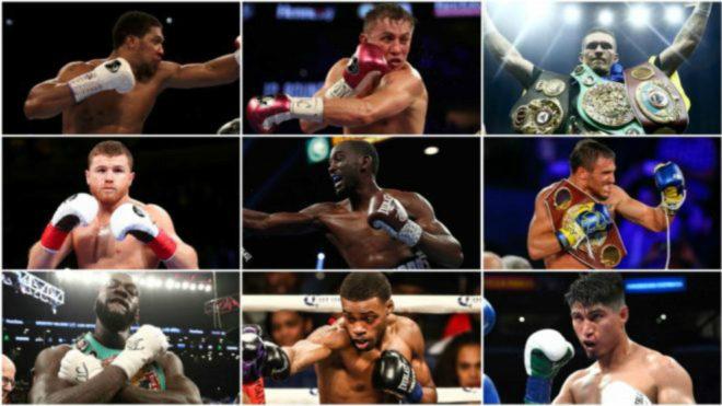 Los mejores boxeadores del moemento en el mundo
