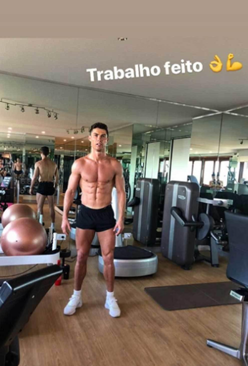 Cristiano Ronaldo Se Desnuda Sin Filtros Con Georgina Rodríguez