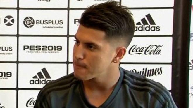 Palacios: Es un orgullo que el Real Madrid se fije en mi