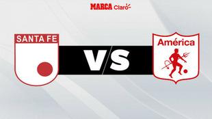 Santa Fe vs América por la Copa Fox Sports
