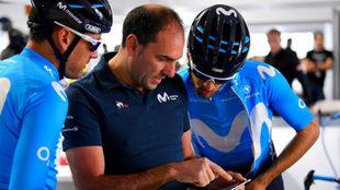 José Luis Arrieta dirige el Movistar en Australia / Dario Belinghelli...