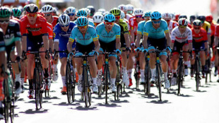 El pelotón del Down Under rodó este pasado domingo en el Critérium...
