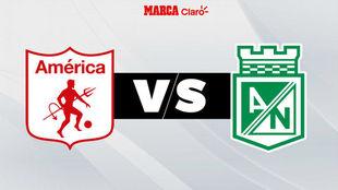 América vs Nacional en Bogotá y por el Torneo Fox Sports