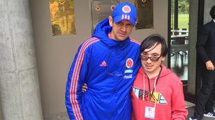 El DT en su despedida antes de viajar con la Selección a Chile /...