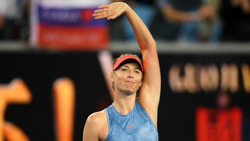Sharapova eliminó a Wozniacki, vigente campeona