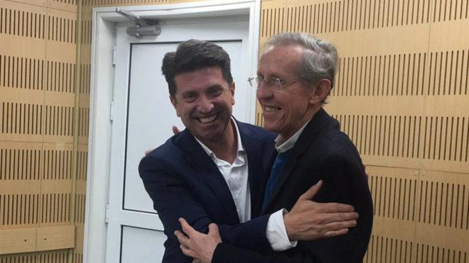 Diego Molano y el Dr. Navarro