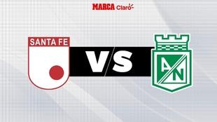 Santa Fe vs Nacional en Bogotá y por el Torneo Fox Sports