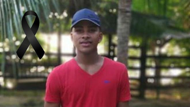 Cristian Maquilon, victima del atentado de la Escuela de Cadetes
