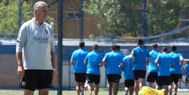 Los once de Boca para el debut de Alfaro