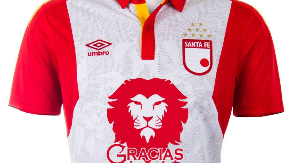 Liga Betplay 2020 Santa Fe Innova Con Su Camiseta En La Apertura De La Liga Aguila Marca Claro Colombia