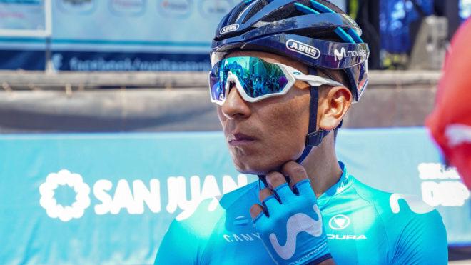 Nairo Quintana, en la Vuelta a San Juan