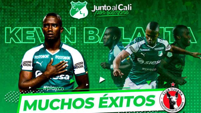 Nuevo 'perro azteca' llega a Xolos del Club Tijuana: Kevin Balanta