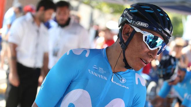 Nairo en su reciente y exitosa participación en la Vuelta a San Juan...