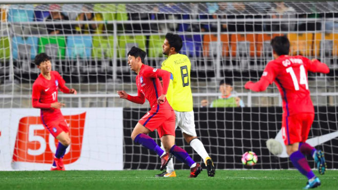 Colombia cayó con los coreanos a finales del año pasado en el...
