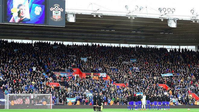 Homenaje a Sala en la Premier League.