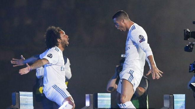 Marcelo revela la salida de Cristiano Ronaldo del Real Madrid