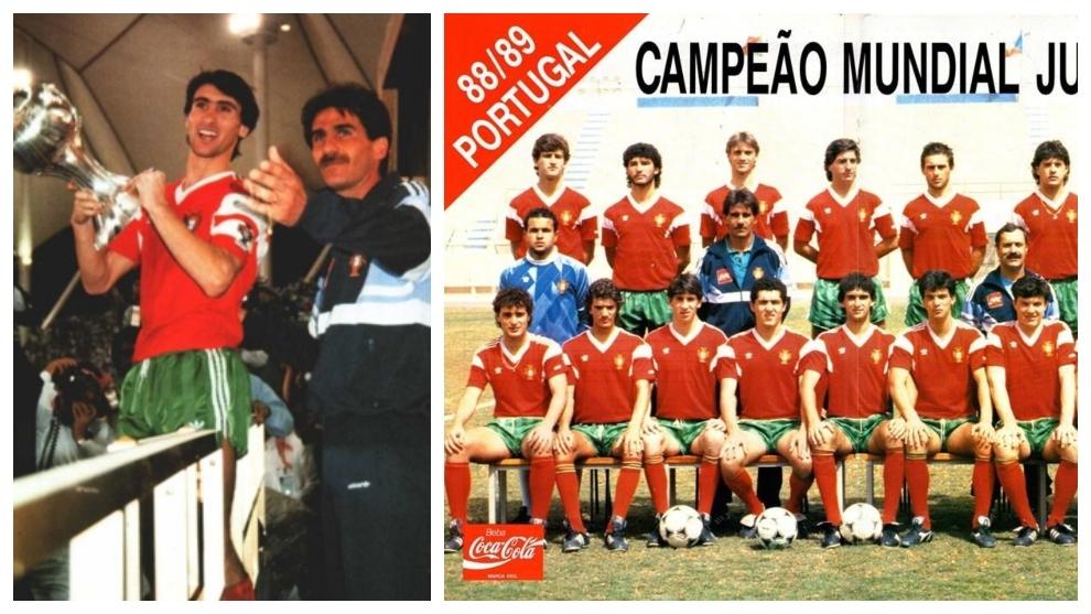 Fue el guía de una generación dorada en Portugal