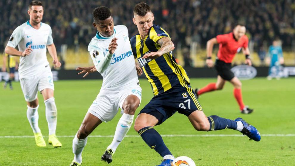 Wilmar Barrios debutó oficialmente con el Zenit de Rusia