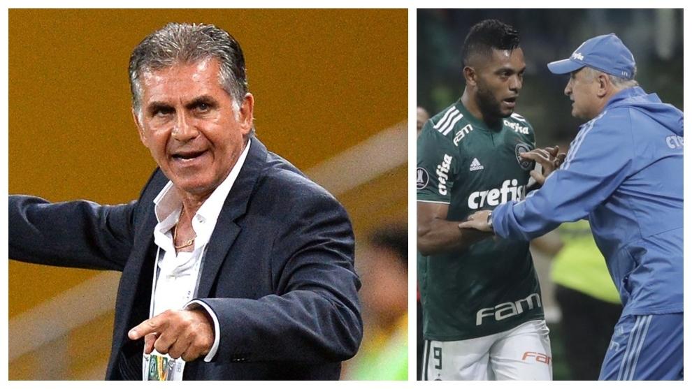 Queiroz es un viejo amigo de Scolari y pudo sacarle provecho