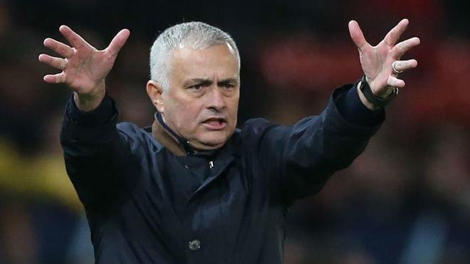 El técnico portugués José Mourinho
